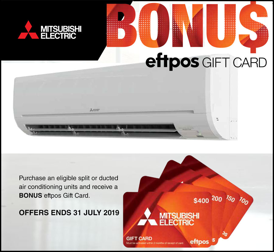 Mitsubishi Gift Card Offer