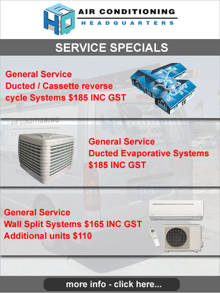 Special Air Conditioning System Service